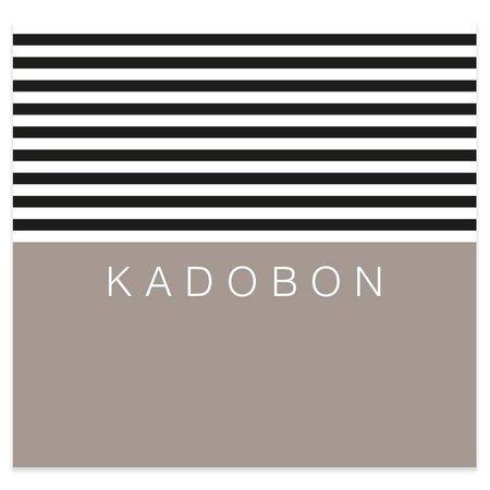 Present Present Kadobonnen - Stripes Black