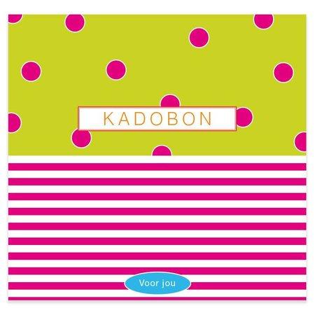 Present Present Kadobonnen - Dots Lime