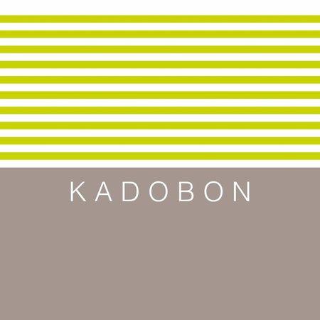 Present Present Kadobonnen -Stripes lime