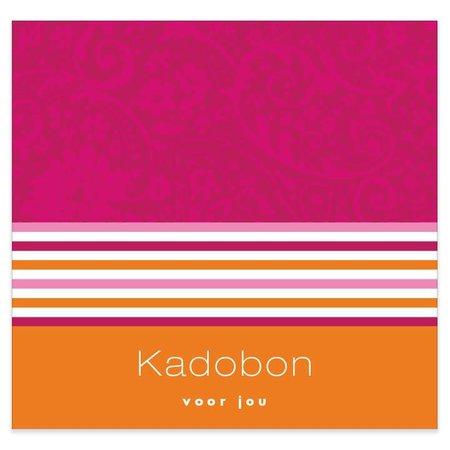 Present Present Kadobonnen - Magenta orange