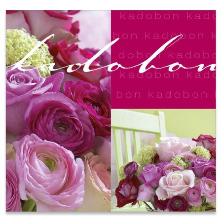 Present Present Kadobonnen - Purple roses