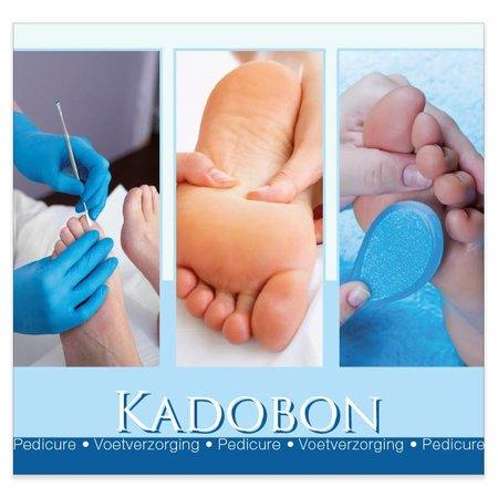 Present Present Kadobonnen - Pedicure blauw