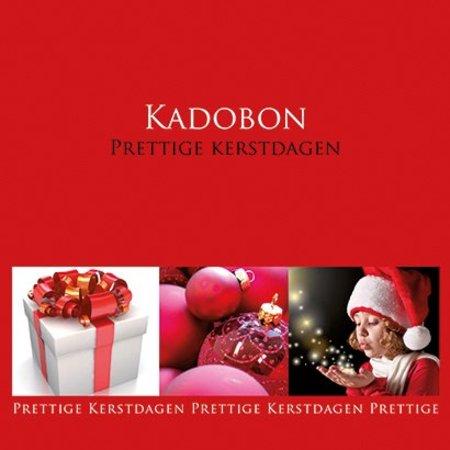 Present Present Kadobonnen - Kerst rood