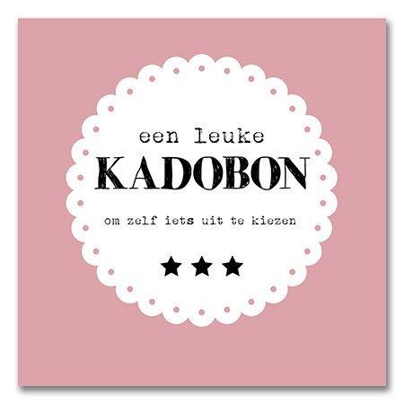 Present Present Kadobonnen - Pink Frill