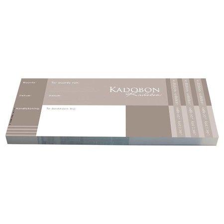 Cheque Kadobonnen - Cool Design