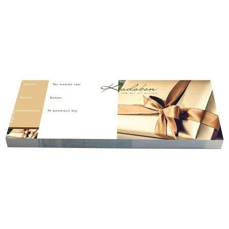 Cheque Kadobonnen - Gold Present