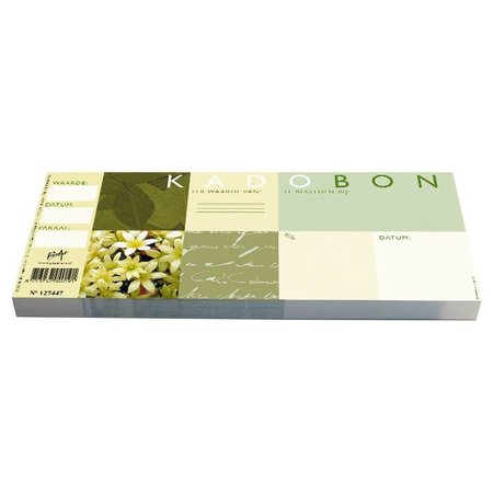 Cheque Kadobonnen - Green Leaves