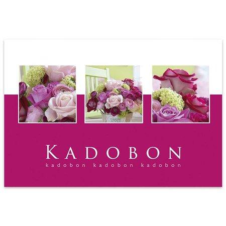 Fortuna Kadobonnen - Paars boeket