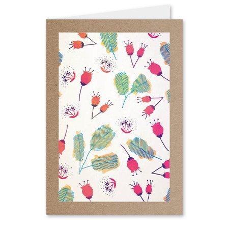 Kadokaartjes Quote - Blanco - bloemetjes