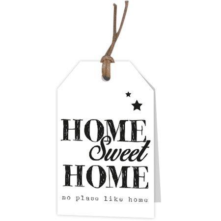 Kadokaartjes Part30 Fries - Home sweet home