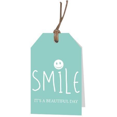 Kadokaartjes Part30 Fries - Smile it's a beautiful day