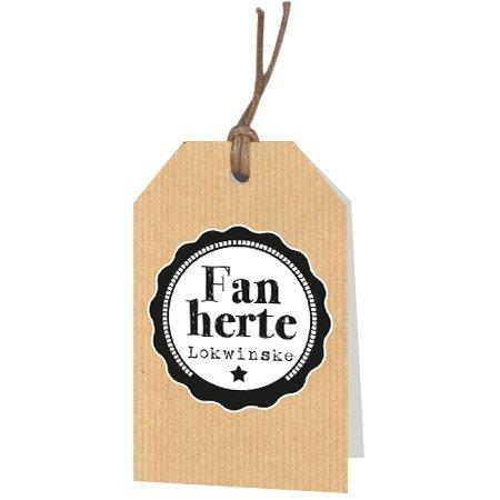 Kadokaartjes Part30 Fries - Fan herte Lokwinske
