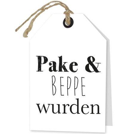 Wenskaarten Rebel30 - Pake & Beppe wurden
