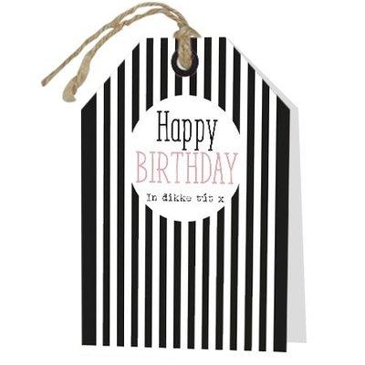 Happy Birthday In dikke tút