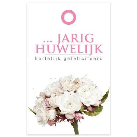 """Basic"" Fleur Kadokaartjes 'Basic' Fleur  - … jarig huwelijk"