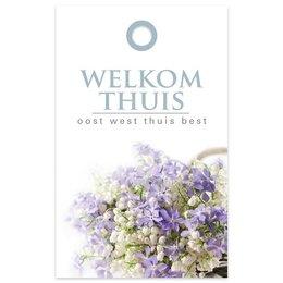 """""""Basic"""" Fleur Welkom thuis"""