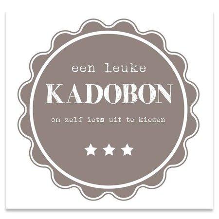 Present Present Kadobonnen - Taupe Pie