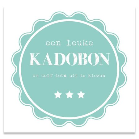 Present Present Kadobonnen - Green Pie