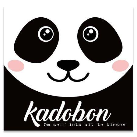 Present Present Kadobonnen - Panda Bear