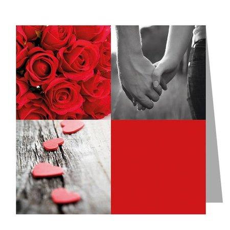 Gelegenheden Kadokaartjes - Valentijn - Holding hands