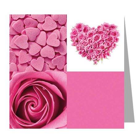 Gelegenheden Kadokaartjes - Valentijn - Pink love