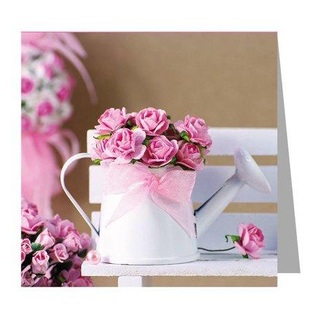 Gelegenheden Kadokaartjes - Valentijn - Can of roses