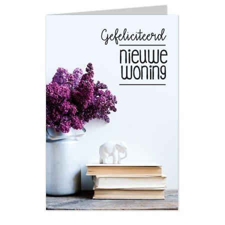 wenskaarten Wenskaarten Casa collection - Gefeliciteerd, nieuwe woning