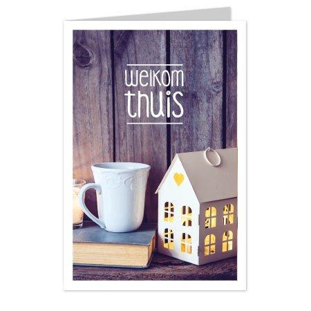 wenskaarten Wenskaarten Casa collection - Welkom thuis