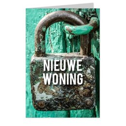 wenskaarten Nieuwe woning