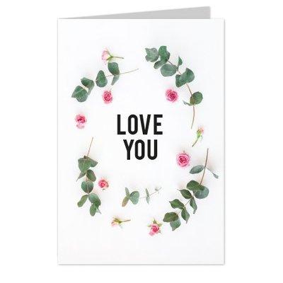 wenskaarten Love you