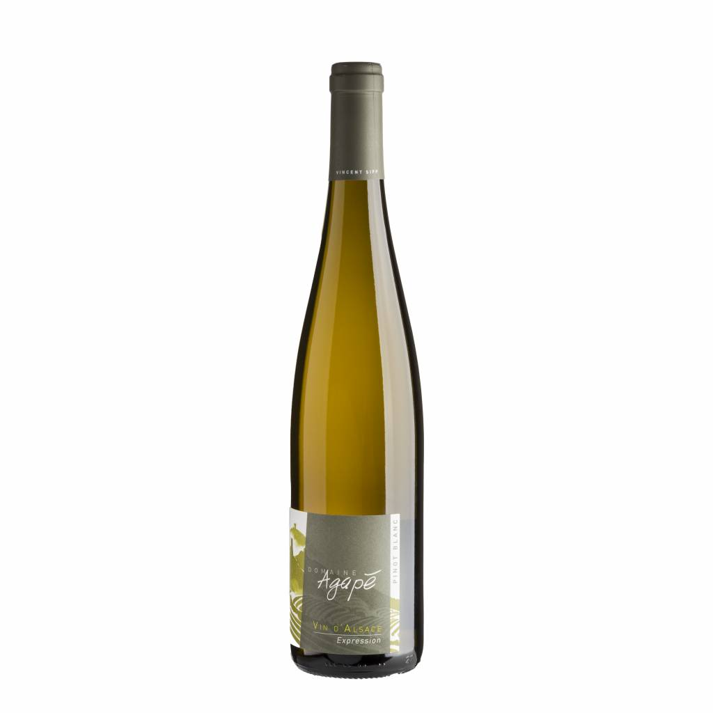 Domaine Agapé Pinot Blanc Expression 2015