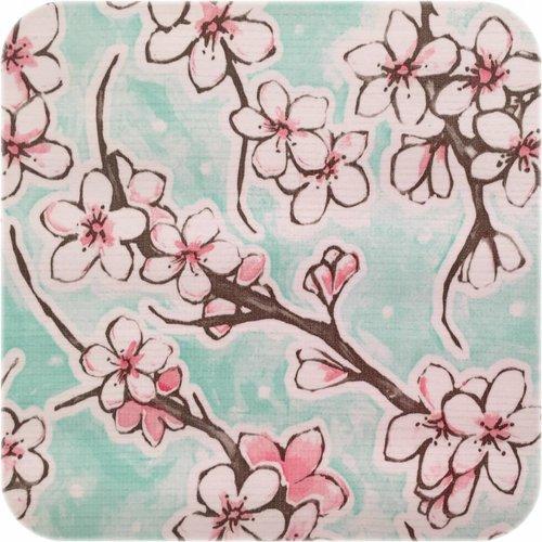 Tafelzeil 2,5m Kersenbloesem mintgroen