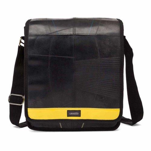 Urban messenger binnenbanden zwart-geel
