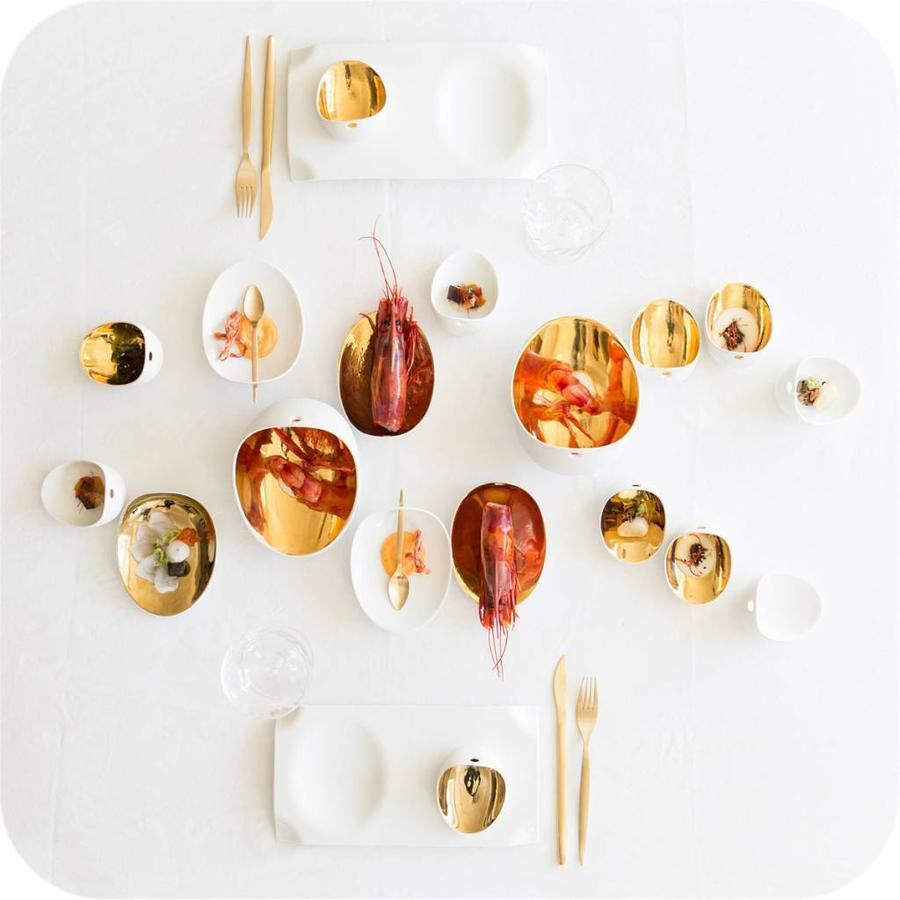 Cookplay Jomon mini schaaltje wit porselein geschenkverpakking