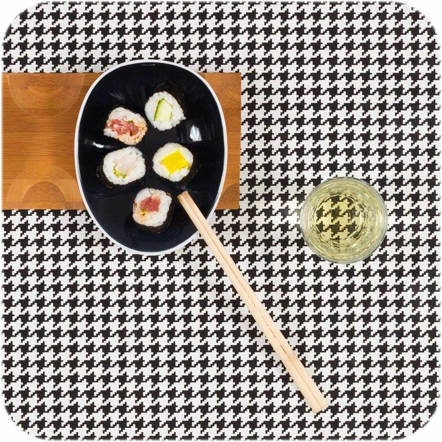 Cookplay Jomon small schaaltje zwart-wit porselein
