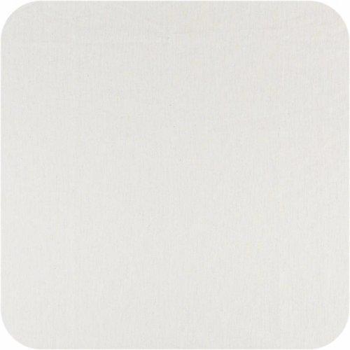 Gecoat tafelkleed Linnen Wit met goud 250 cm