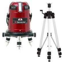 ADA  6D SERVOLINER ROOD 8-LIJNS laser met Li-ion accu