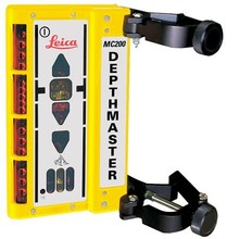 Leica  MC200 Depthmaster machinereceiver with clamps