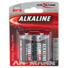 Ansmann Alkaline C-cell batterij