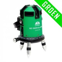 ADA  6D SERVOLINER GROEN 8-LIJNS laser met Li-ion accu