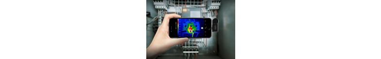 Thermal imaging cameras for Smartphone
