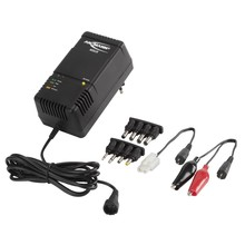 Ansmann ACS 110 universele lader/ontlader voor 1,2 tot 12 volt accu's