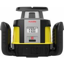 Leica  Rugby CLH & CLX300 software, incl. Combo ontvanger, handmatig enkel afschot instelbare laser ( Rugby 670)