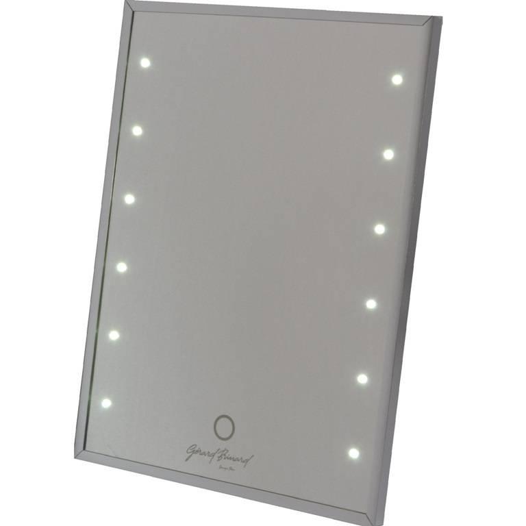 Make-up Spiegel met Touch led-lichtjes (12) (3 Licht Sterktes ...