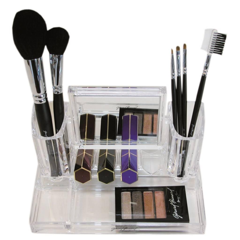 Acryl organizer met Make-up spiegel