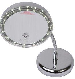Make-up LED-spiegel met magneet Ø13/5x vergroting | Badkamer Spiegel