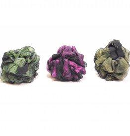 Puff spons 3 kleuren