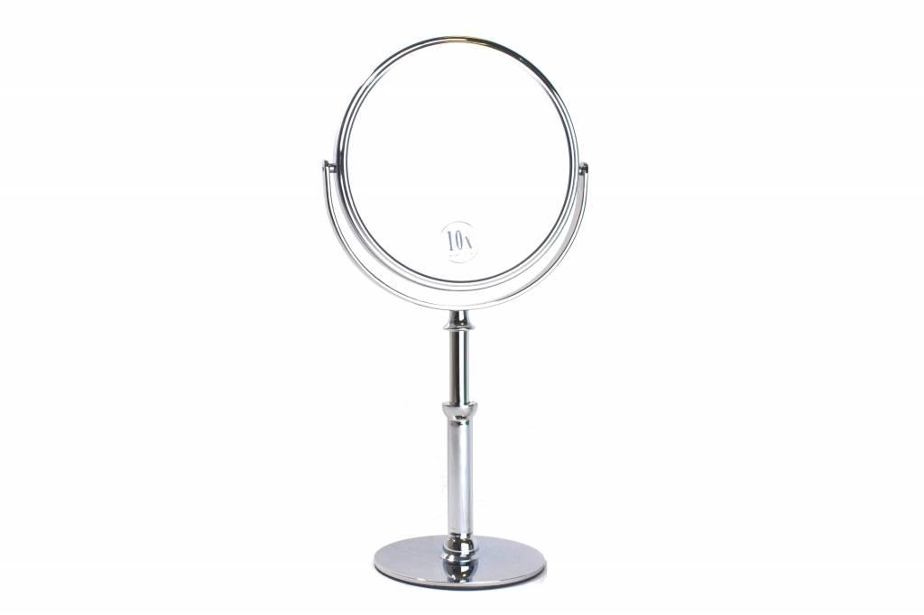 staande hand make up spiegel zilver 15cm vergroting 5x. Black Bedroom Furniture Sets. Home Design Ideas