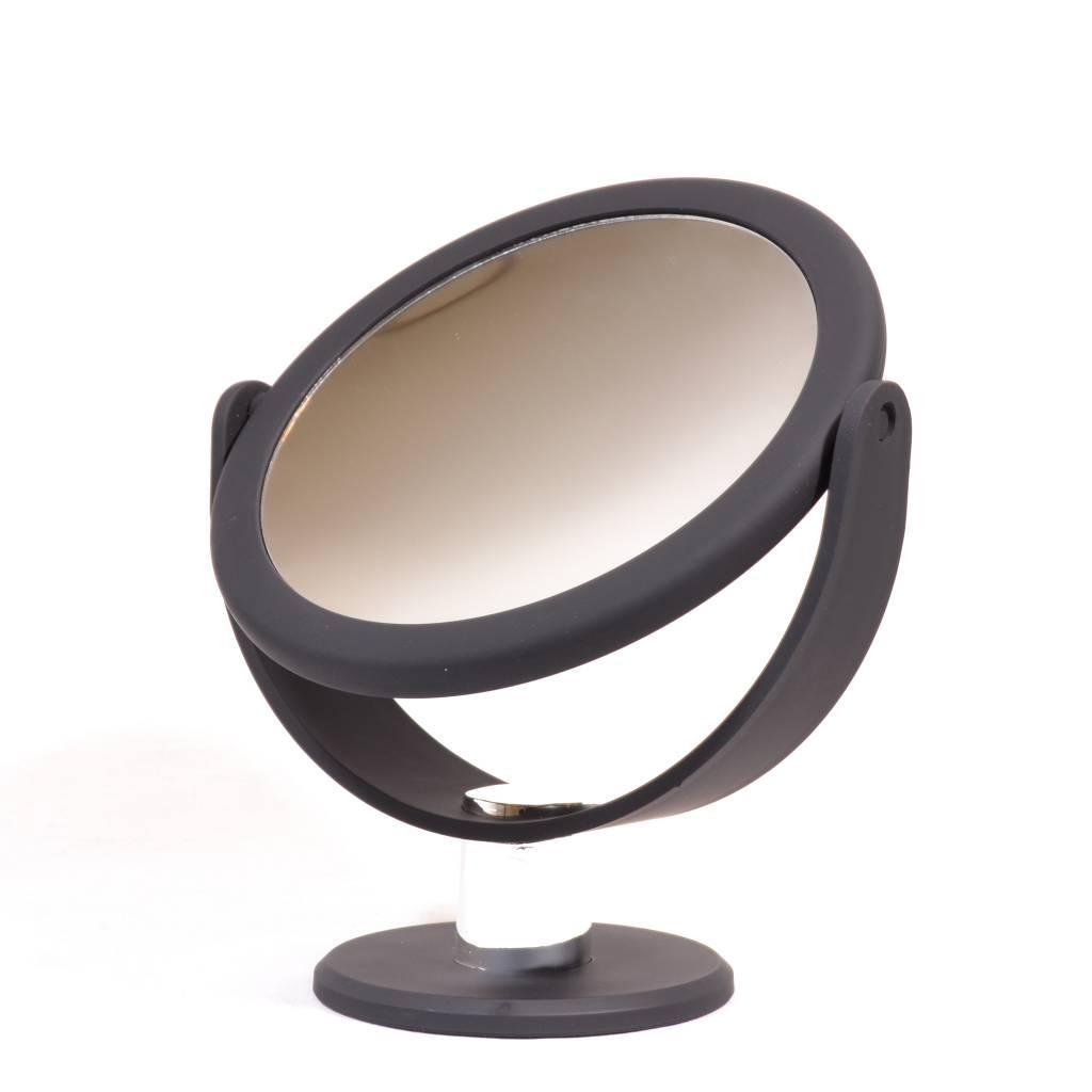 make up spiegel met rubbercoating 14 5cm 5x vergroting gerardbrinard. Black Bedroom Furniture Sets. Home Design Ideas