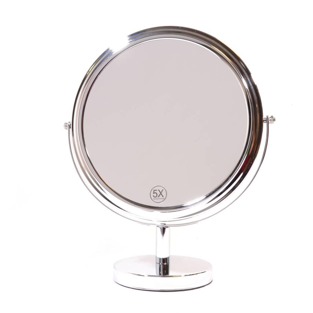 Grote make up spiegel 27cm 5x vergroting gerardbrinard for Spiegel extra